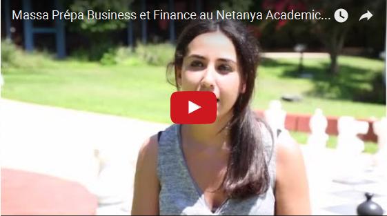 Vidéo – Présentation de Massa Prépa Business et Finances de Netanya