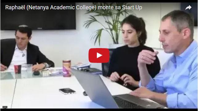 Vidéo – Un ancien du Netanya Academic College lance sa start Up